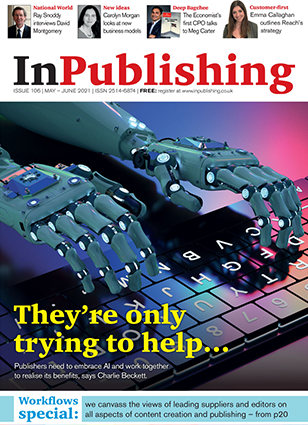 in publishing